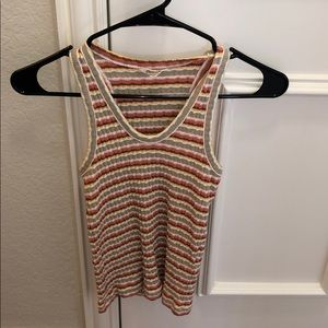 Madewell Scooped Tank Top